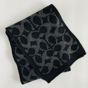 Coach cold weather scarf